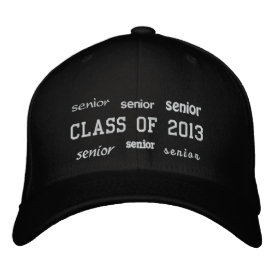 Senior Class of 2013 - Embroidered Hat
