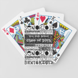 Senior Class of 2013 - Playing Cards