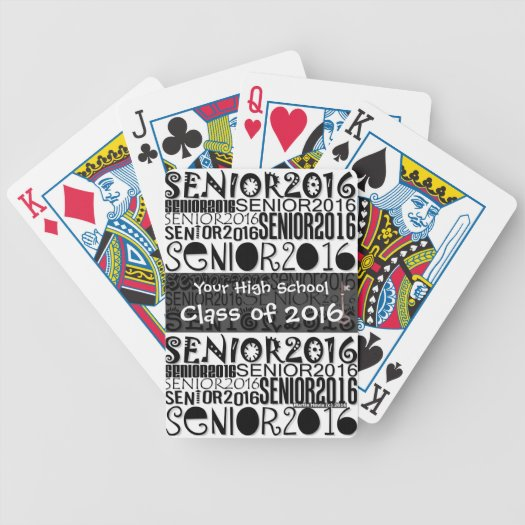 Senior Class of 2016 - Playing Cards