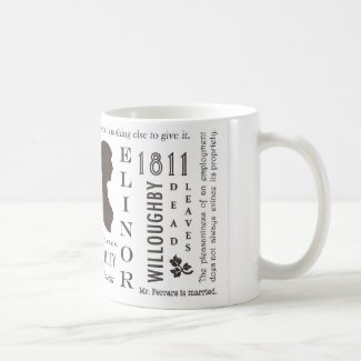 Sense and Sensibility Classic White Coffee Mug