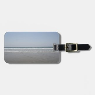 Serene California Beach Bag Tags