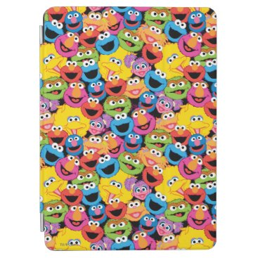 Sesame Street Character Faces Pattern iPad Air Cover