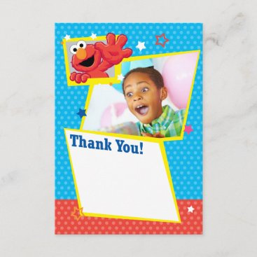 Sesame Street | Elmo - Polka Dot & Stars Birthday  Card
