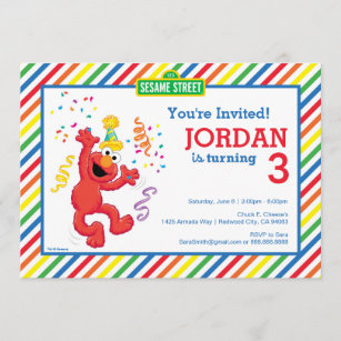 elmo invitations zazzle
