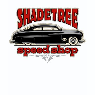 Shade Tree Speed Shop Custom Mercury shirt