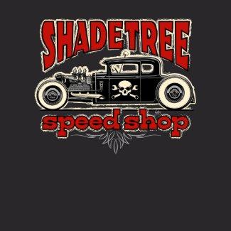 Shade Tree Speed Shop Shot Rod shirt