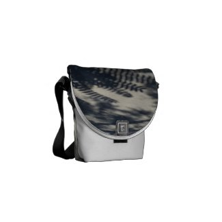 Shadow Play Mini Messenger Bag