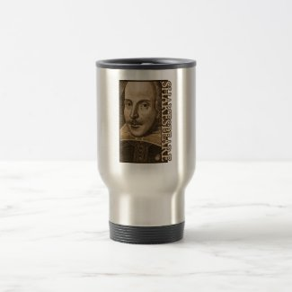 Shakespeare Droeshout Engravings Coffee Mugs