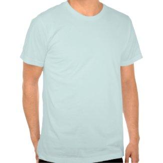 Shaving Hairy American Apparel T-Shirt shirt
