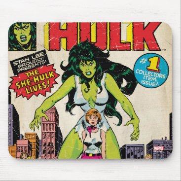 She-Hulk Classic Comic Mouse Pad