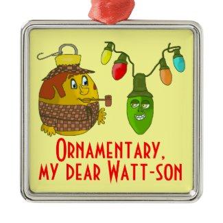 Sherlock & Dr. Watson Ornamentary XMas
