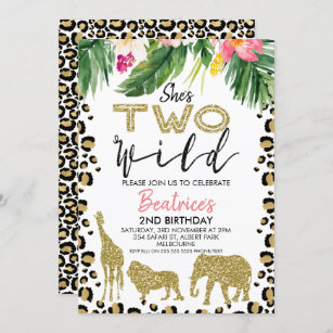 2nd birthday invitations zazzle