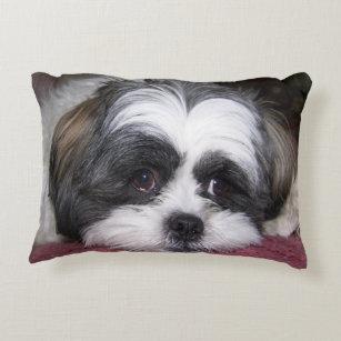 shih tzu decorative throw pillows