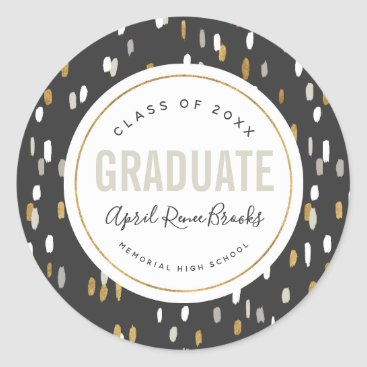 Shimmer Personalized Graduation Stickers