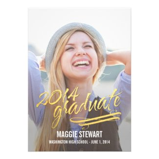 Shining Moment Graduation Announcement
