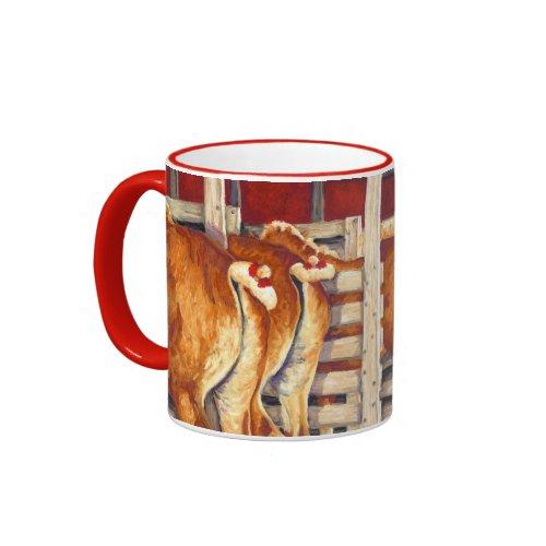 Show Girls - Belgian Horses zazzle_mug