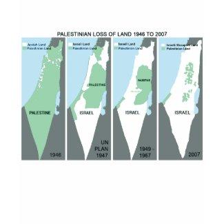 Shrinking Map of Palestine shirt