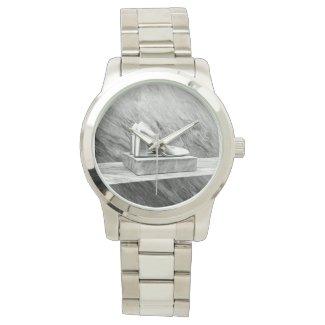 Silver Prada shoes 2015 Wristwatch