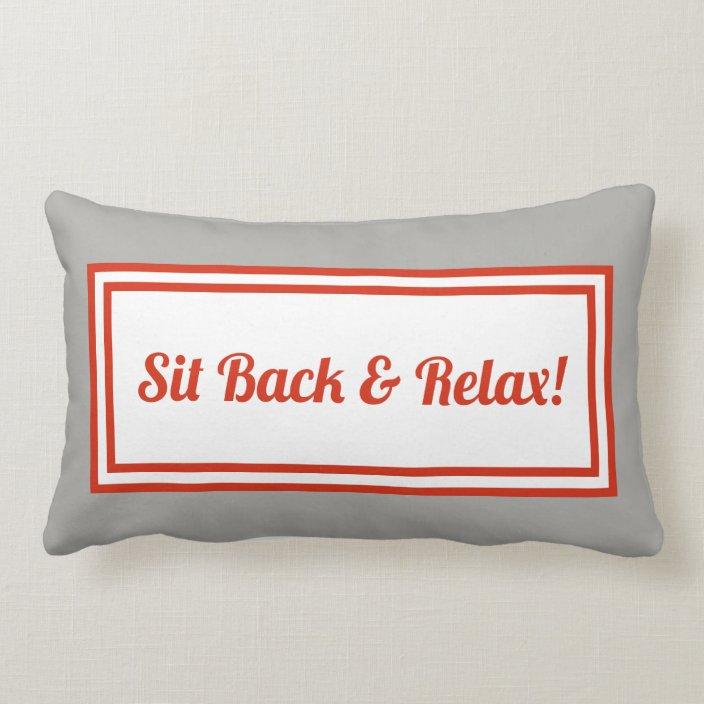 relax lumbar pillow online