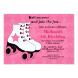 Skating Birthday Party Invitation