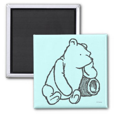Sketch Winnie the Pooh 2 Magnet
