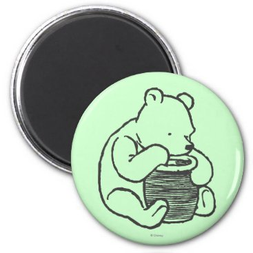 Sketch Winnie the Pooh 3 Magnet