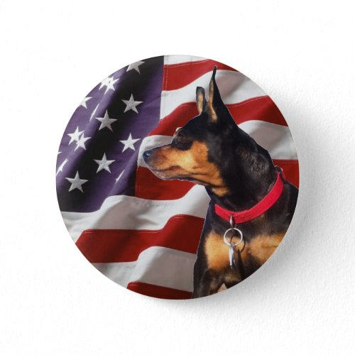 Skip the Election Dog button