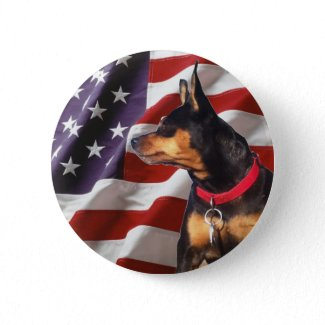 Skip the Election Dog Pinback Buttons