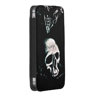 Skull Smoke VAPE iPhone5 Pouch