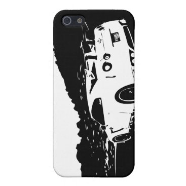 Skyline Rear View iPhone Case