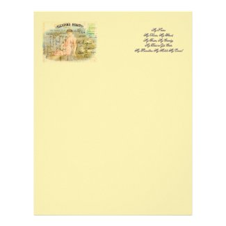 Sleeping Beauty Letterhead