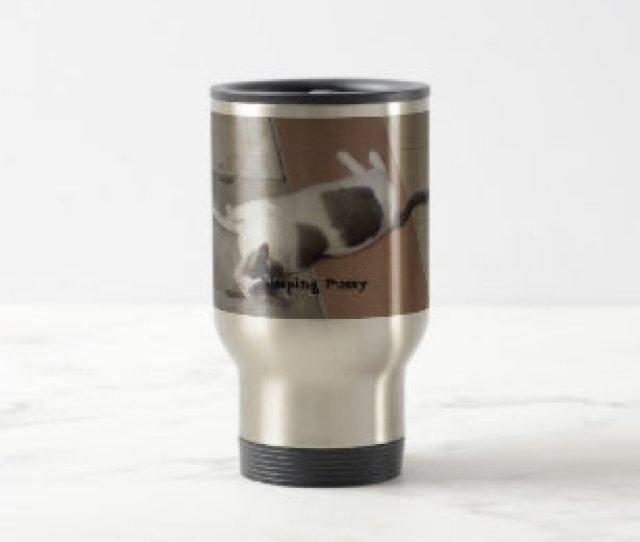 Sleeping Pussy Travel Mug