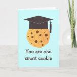 ❤️ Smart Cookie Graduation Greeting Card