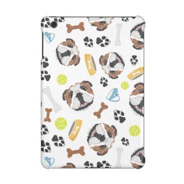 Smiling Dog English Bulldog iPad Mini Case
