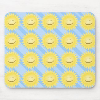 Smiling Sun Mousepad
