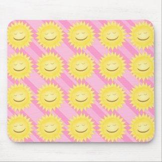 Smiling Sun Mousepad