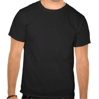 Smoking Jacket Magazine T-Shirt White on Black