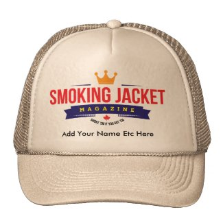 Smoking Jacket Magazine - Trucker's Style Hat