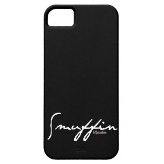 Smuffin Black Customizable iPhone Case iPhone 5 Cases