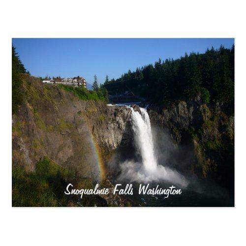 Snoqualmie Falls Postcard