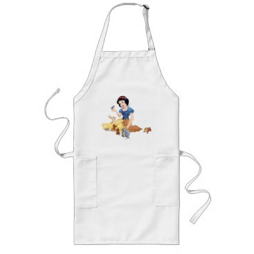 Snow White and the Forest Animals Long Apron
