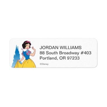Snow White & Castle Graphic Label