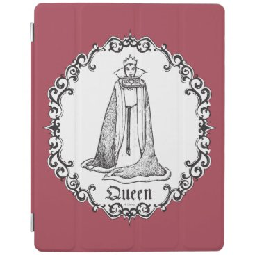 Snow White | Evil Queen - Vintage Villain iPad Smart Cover