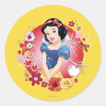 Snow White - Fairest In The Land Classic Round Sticker