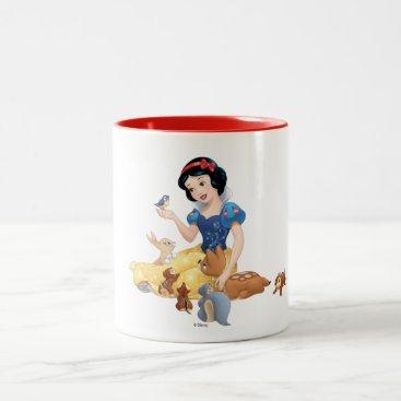 Snow White | Make Time For Buddies Two-Tone Coffee Mug