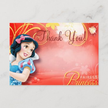 Snow White Thank You Cards