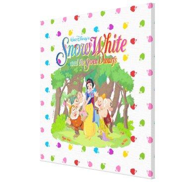 Snow White & the Seven Dwarfs | Wishes Come True Canvas Print