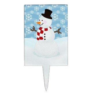 Snowman Cake Pick
