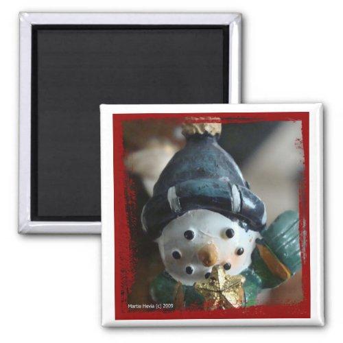 Snowman Magnet magnet