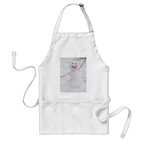 snowman pizazz! apron